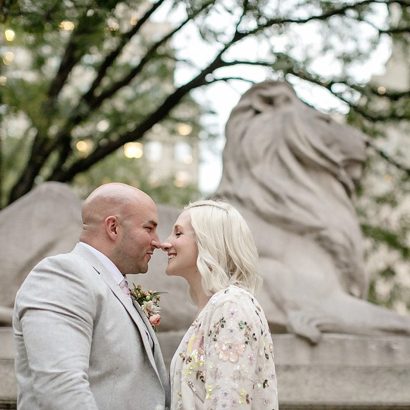 New York Public Library Elopement!