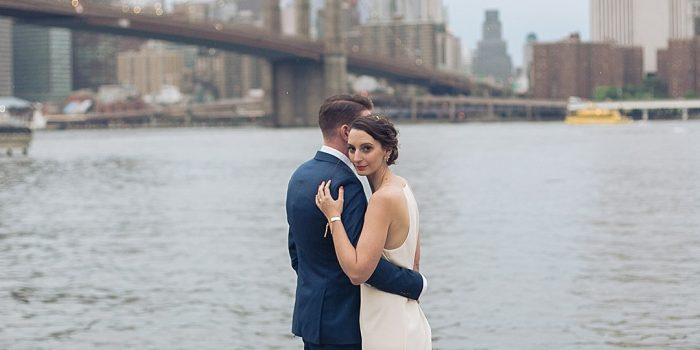 Rooftop elopement in NYC!