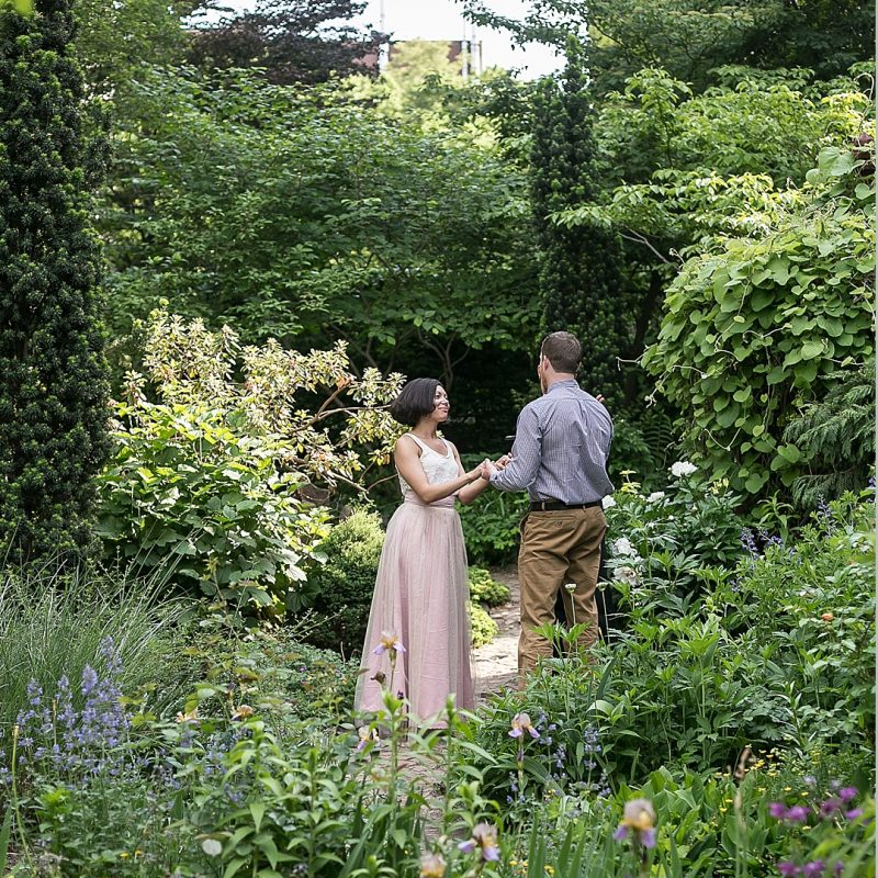 Eloping in a Garden