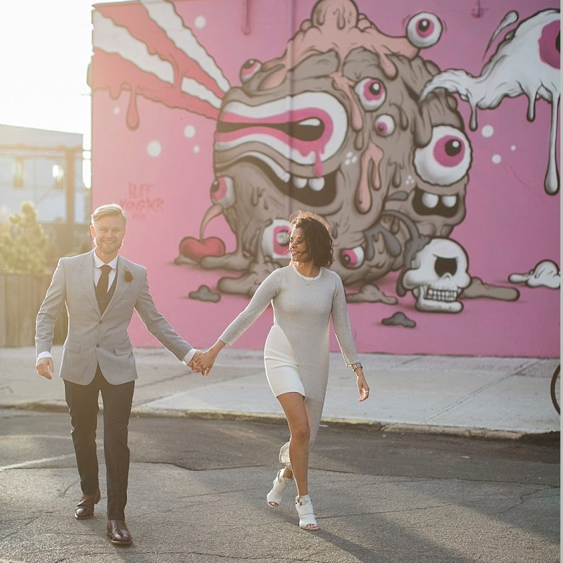 Modern Brooklyn Elopement