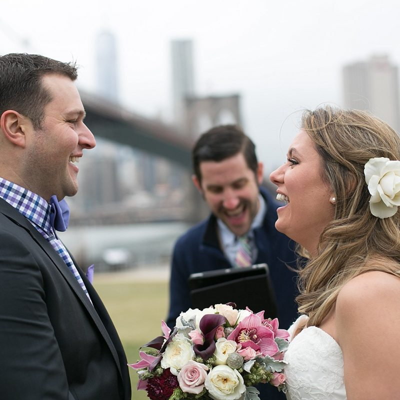 Custom Written Ceremony that will keep any couple laughing!