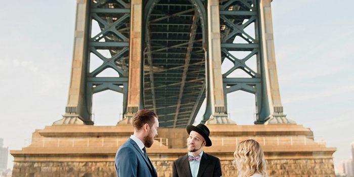 Two Swedes Down Under the Manhattan Bridge