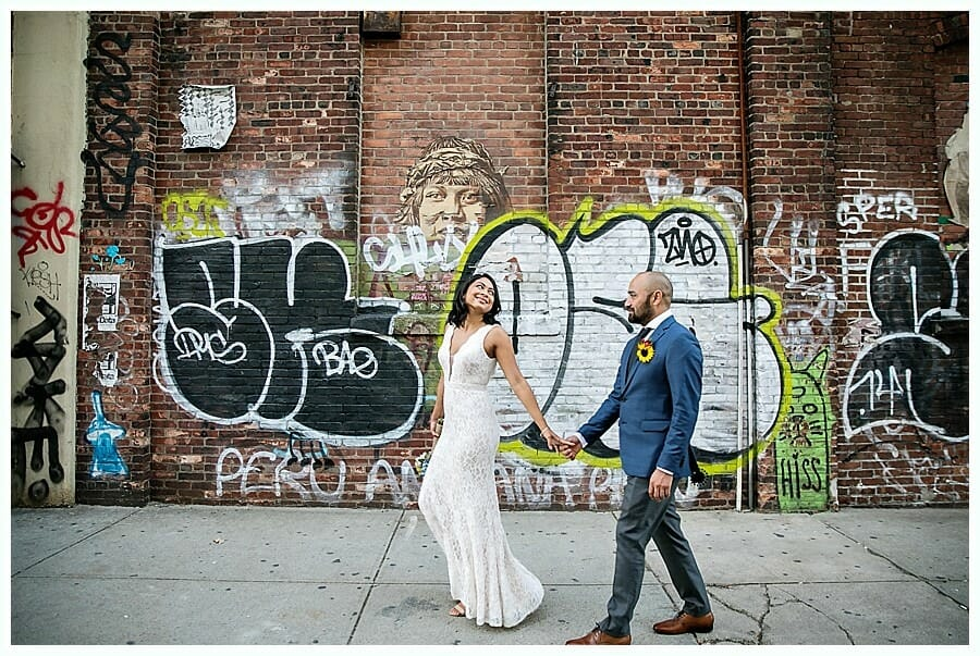 dumbo and williamsburg elopement eloping is fun eloping in nyc