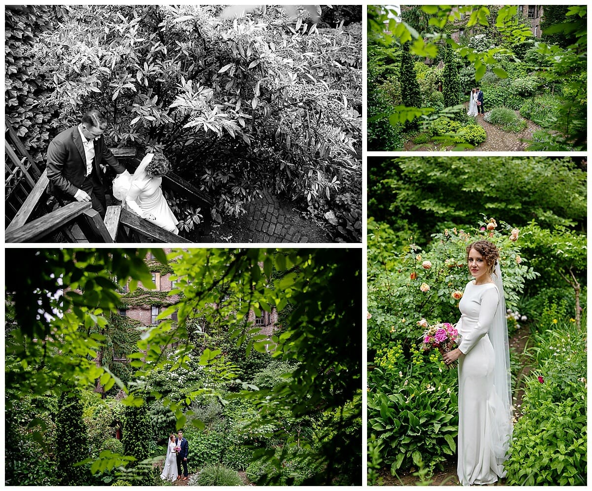 secret garden elopement