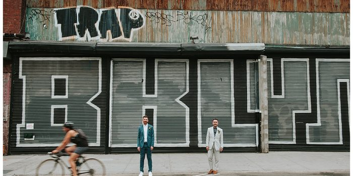 Cliff + Ross elope in Greenpoint