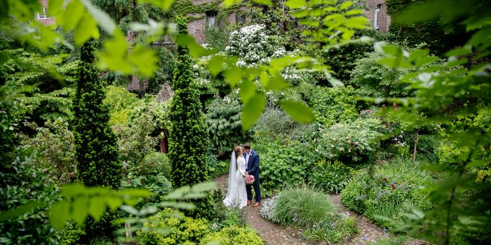 Kari + Nev at Our super secret Garden